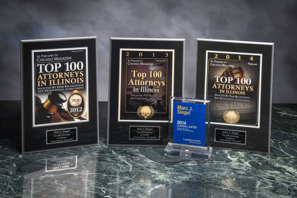Siegel and Dolan Top 100 Illinois Attorney Awards Chicago Labor Law